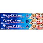 Reynolds Kitchens Non-Stick Parchment Paper Rolls, 50 Square Foot - 3 count