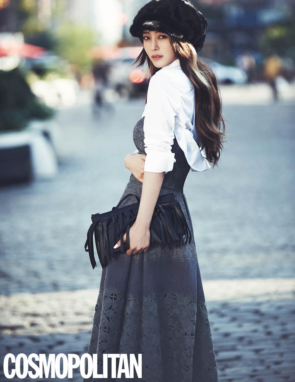 Han Ye Seul - Cosmopolitan Magazine November Issue '14