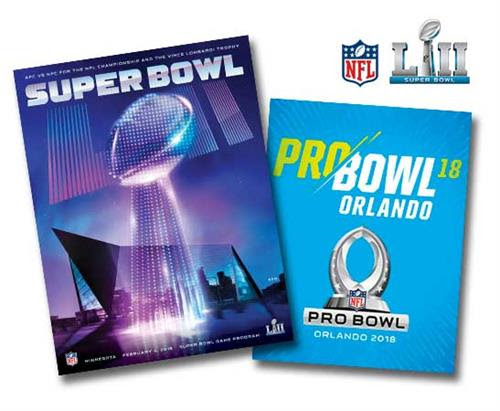 2018 - Official Super Bowl LII Program Stadium/Holographic Version