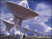 Radiotelescopios.