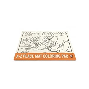 A-z Animal Place Mat Coloring Pad