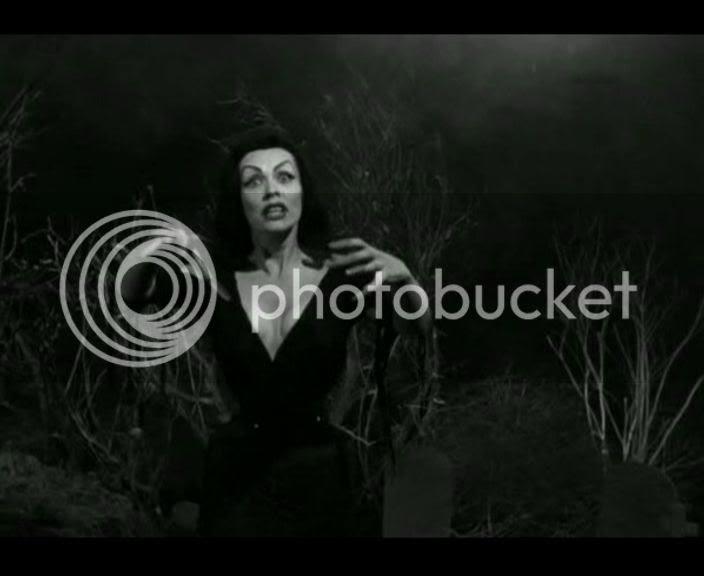 vampira as vampire girl