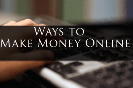 5 Ways to Earn Money Online at Home