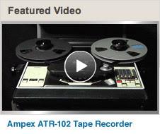 Featured Video: Ampex ATR-102