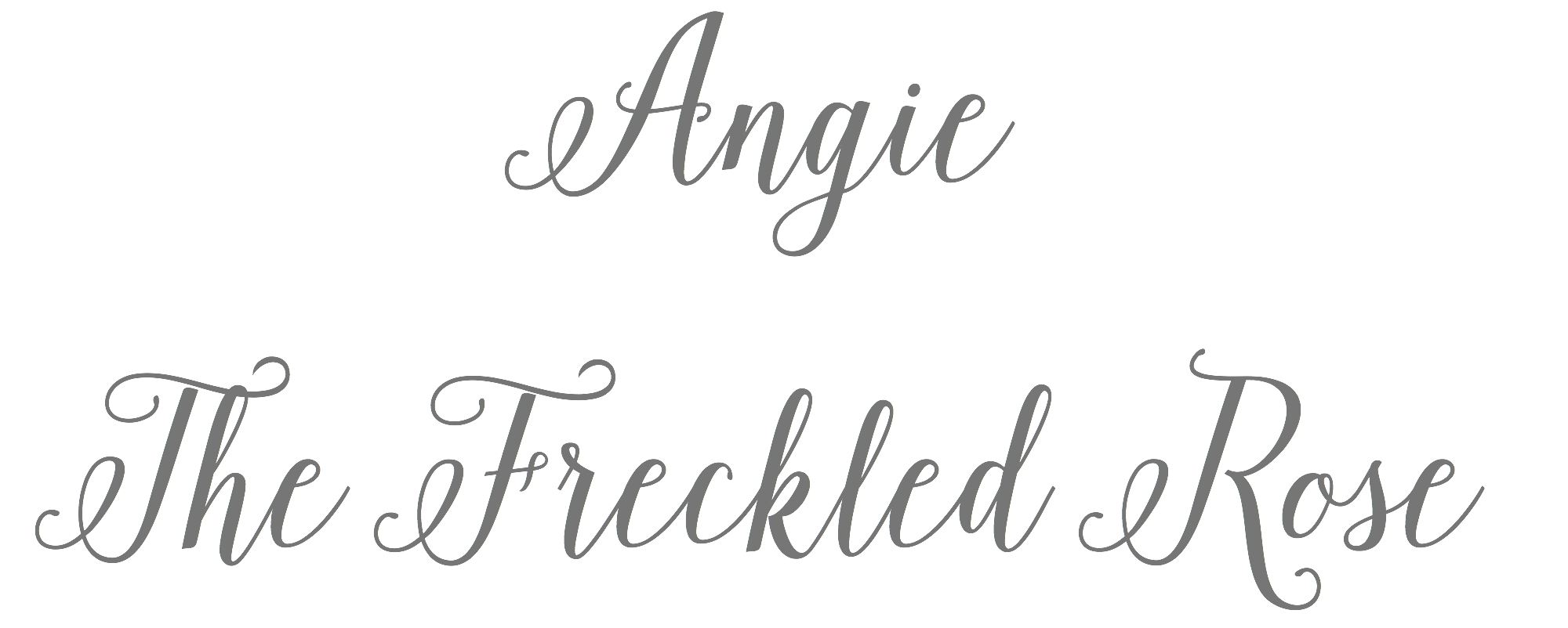 Angie The Freckled Rose | angiethefreckeldrose.com