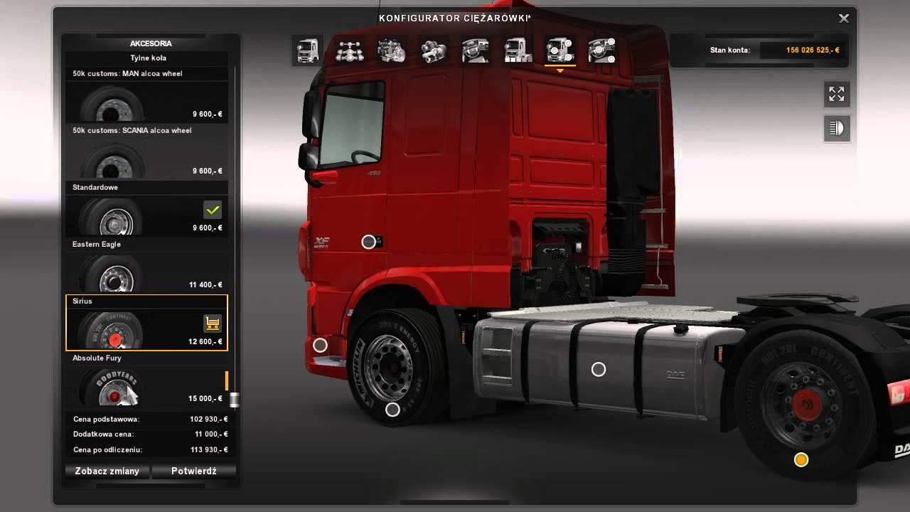 Michelin 50k Wheels Pack Mod Euro Truck Simulator 2 Mods