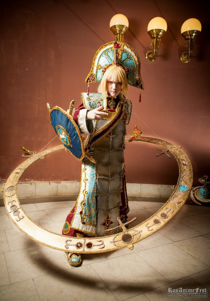 Ion Fortuna! Wheel of Fortune! Tarot Card by Lyumos