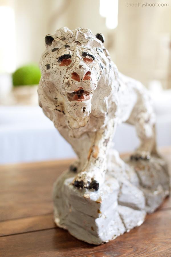 Atchison Αρχική | Lion άγαλμα
