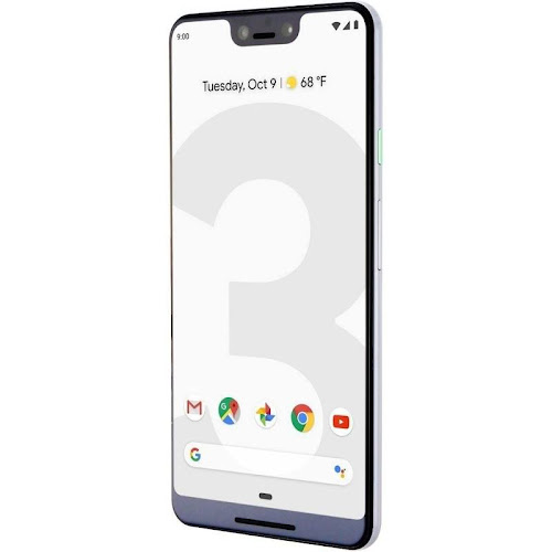 Google Pixel 3 XL - 64 GB - Clearly White - Unlocked - CDMA/GSM