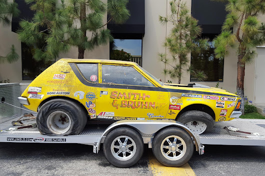 Craigslist Find! Abandoned 1970 Gremlin Drag Car