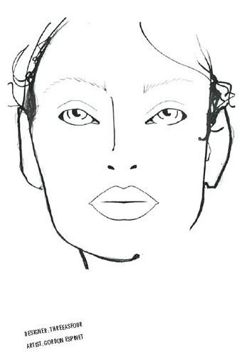 Fashion Week '09: MAC Face Charts Saturday February 14th