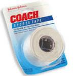 Johnson And Johnson Coach Sports Tape - 1.5 Inchs X 10 yds