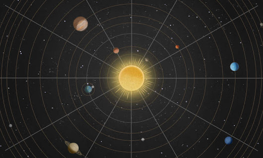 Brilliant Interactive map of the Solar System | wordlessTech