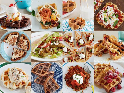 12 Recipes You Didn't Know You Could Make in a Waffle Iron | Recipes, Dinners and Easy Meal Ideas | Food Network