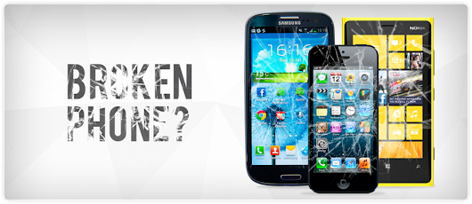 Damaged Cell Phone Means 'Communication Damage' and 'Business Damage'