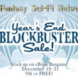 Fantasy & Science-Fiction Network's Year's BlockBuster Book Sale: TODAY -12/31/15!