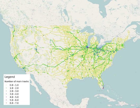 The single-tracked world of American railroading