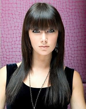 Cool Bangs Hairstyles for Teen Girls|