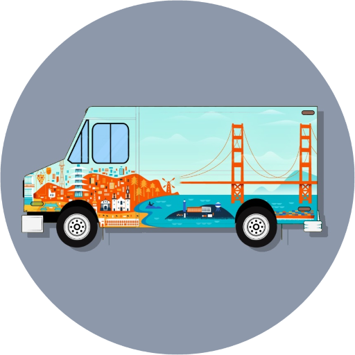 Food Truck Wraps SF | Food Cart Wraps SF | Vehicle Wraps SF