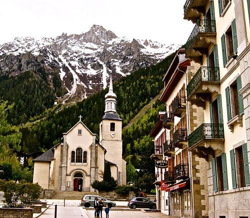 Church in Chamonix