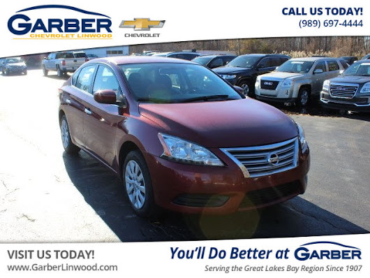 Pre-Owned 2015 Nissan Sentra SV FWD Sedan