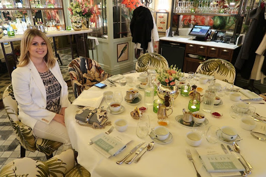 Ladies Breakfast at the Ivy Chelsea Garden - Raising Awareness about Mental Health