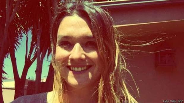 A espanhola Lidia García Villar sofre da rara síndrome de Guillain-Barré (Foto: BBC)
