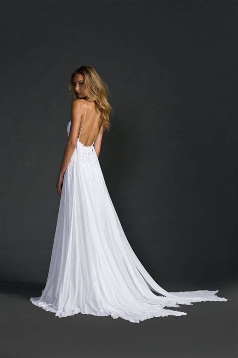 Best 25  Open back wedding ideas on Pinterest   Detailed