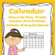 Calendar -Days of the week, Months etc. - Worksheets and Activities