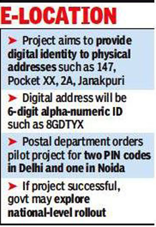 Now, Government to start mapping your address digitally
