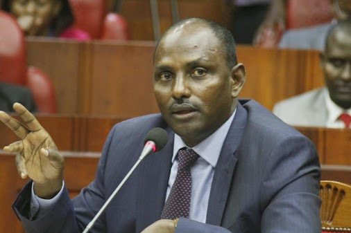 Labour and Social Protection Cabinet Secretary Nominee Ukur Yatani during the vetting by the National...