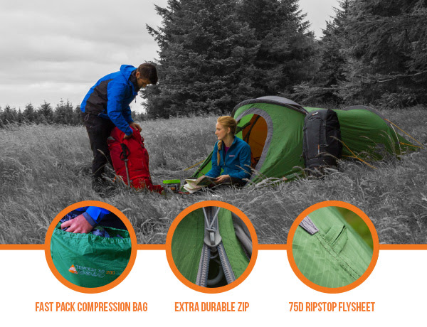 Vango Tempest XD Technical Tent - Complete Outdoors