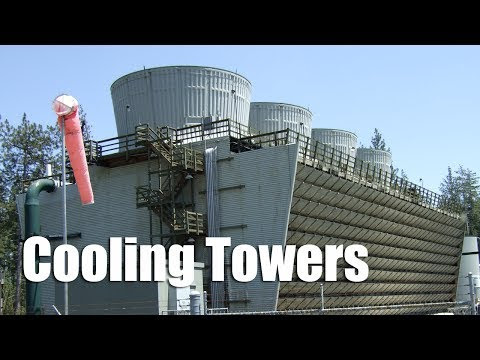 Waterline Controls — A cooling tower is used as part of an air...
