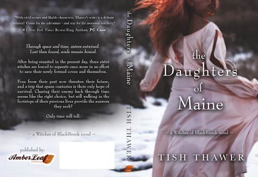 Spotlight: The Daughters of Maine (Witches of BlackBrook #2) by Tish Thawer