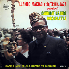Franco et le T.P. OK Jazz sing for Mobutu