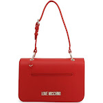 Love Moschino Shoulder Bag w/removable pochette, red