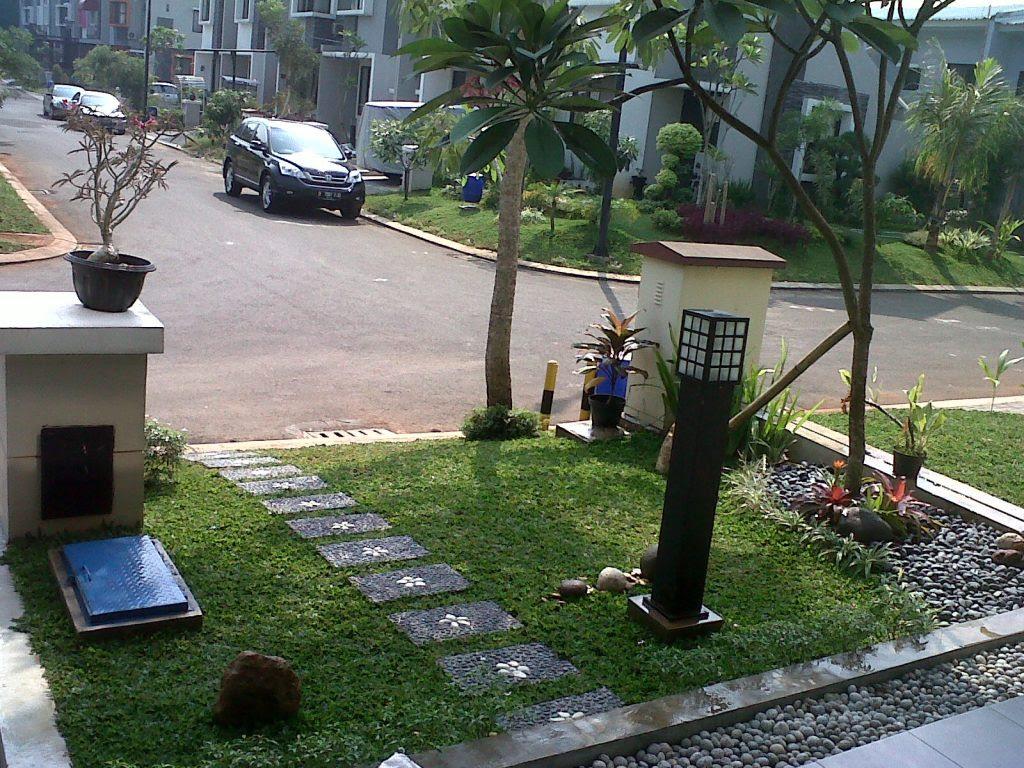 Taman Depan Rumah Minimalis Lahan Sempit 15 Livedesaincom