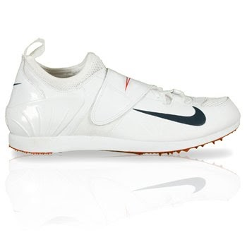 #2 Low Price Nike PV II Running/Long Jump/Tri Jump/Pole Vault Shoe - Men's  (Black/White) | Nike Spikes
