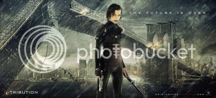 Resident Evil Retribution - Poster 0006