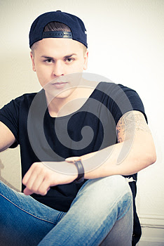Male portrait sitting down