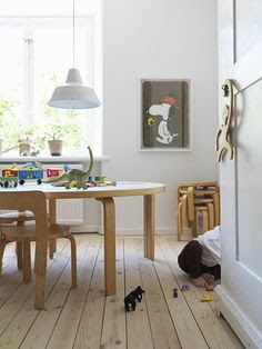All natural! Kids' playroom!