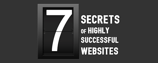 The 7 Secrets of Highly Successful Websites - Design Inspiration