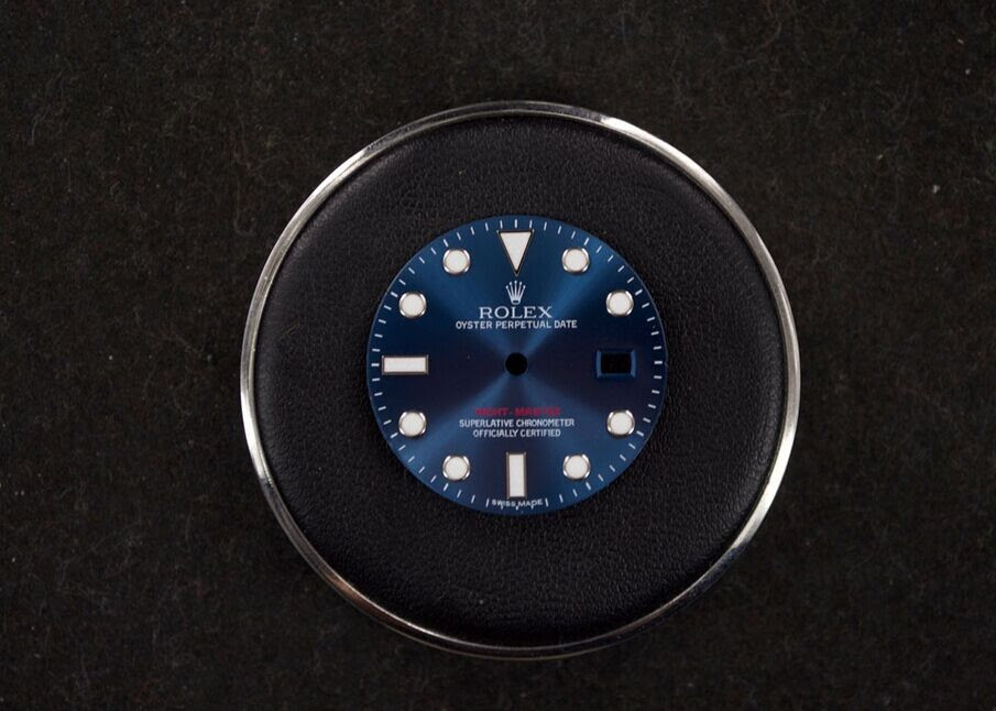 Blue Yacht-Master Dial