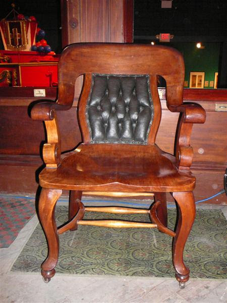 Identifying The Wood Species For An Antique Chair - Indoor Chairs