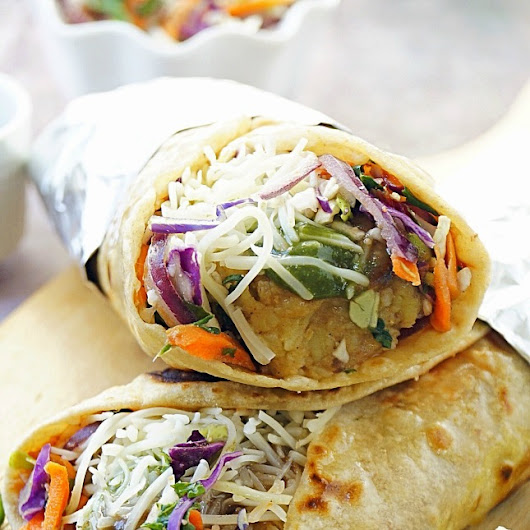 12 Tasty Wraps for a Quick and Easy Dinner