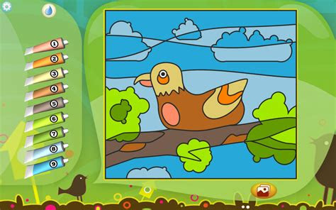 bird coloring page printables apps  kids