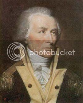 portrait of Revolutionary War general nicknamed the Carolina Gamecock