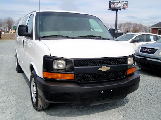 Used 2012 Chevrolet Express 1500 Cargo for Sale in Monroe NC 28110 Auto Track