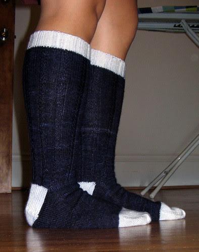Country Socks modeled