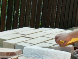 DIY Outdoor Kitchen and Pizza Oven - Refractory bricks